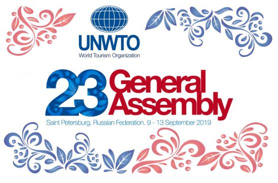 UNWTO General Assembly in St. Petersburg.