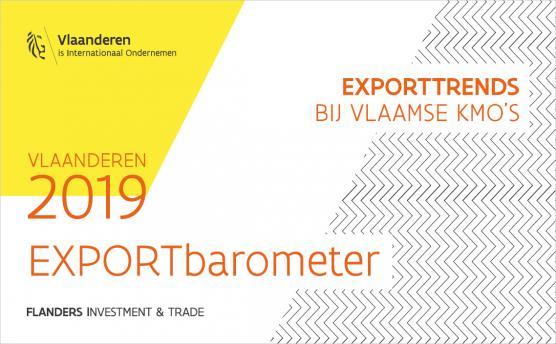 Cover brochure Exportbarometer 2019