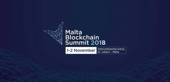 Malta's First Blockchain Summit, 1 - 2 November 2018