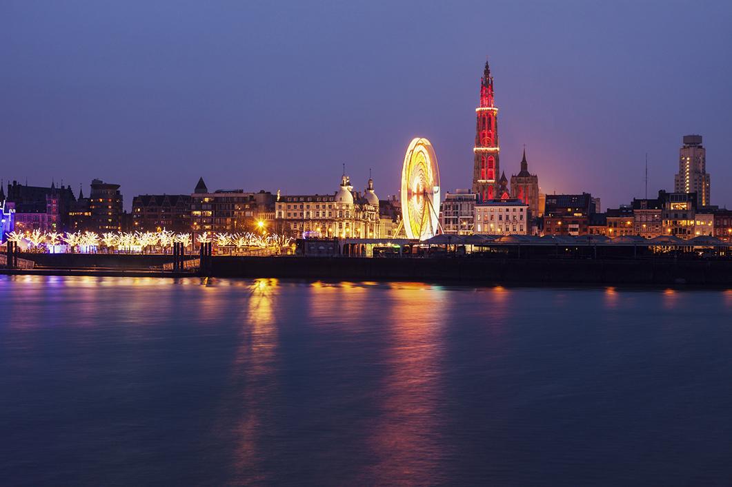 City of Antwerp in Flanders (Belgium)