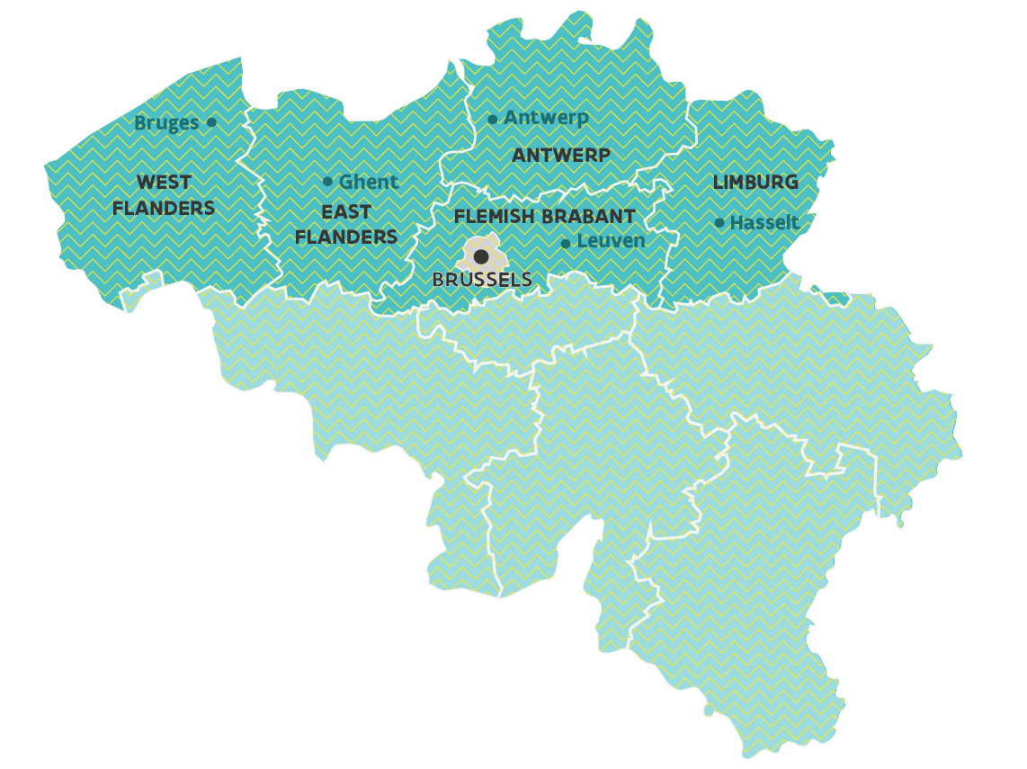 Antwerp Map Europe.What Makes Flanders A Strategic Location Invest In Flanders