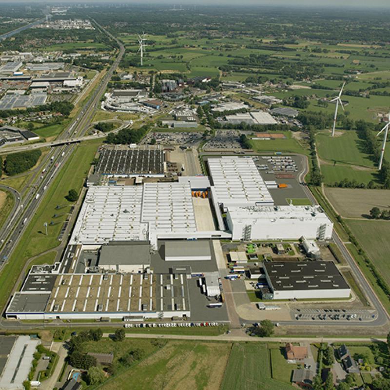 DAF factory in Westerlo, Belgium