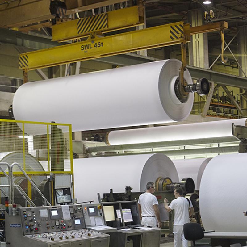 Sappi factory in Lanaken, Belgium