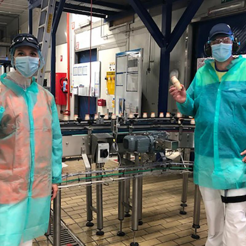 Danone (FR) goes plant based at factory in Flanders