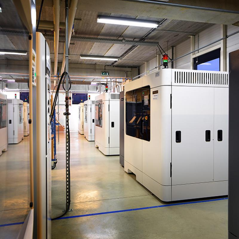 German chemical firm BASF bought USD 25 million in shares of Flanders-based 3D printing company Materialise.