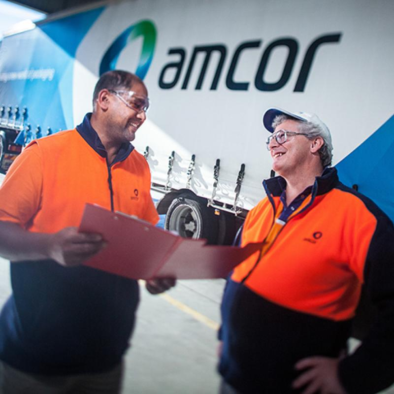 Amcor people talking