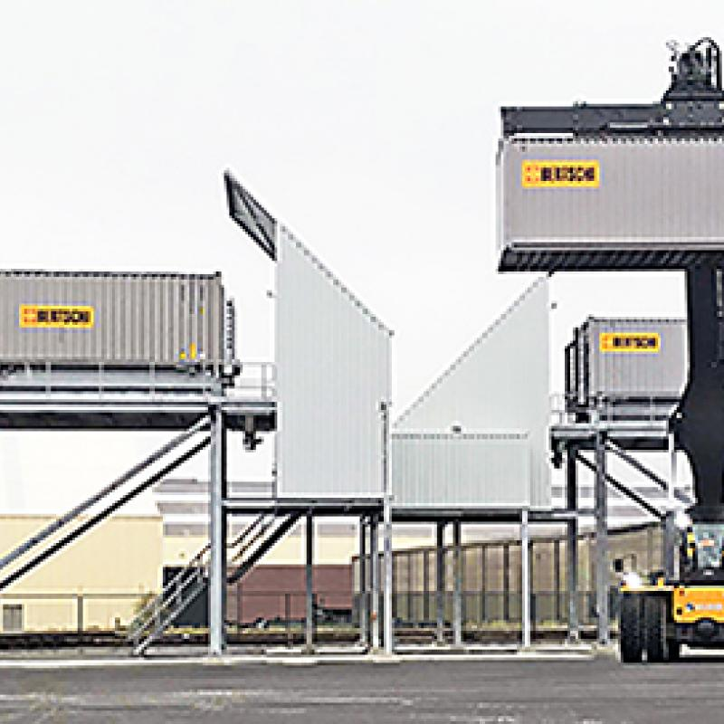 Swiss logistics company Bertschi builds a 25,000 m² European plastics hub in Antwerp, Flanders.