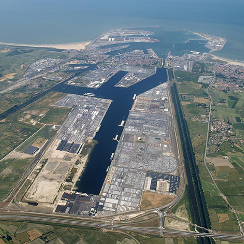 Port of Zeebrugge, Flanders, Belgium