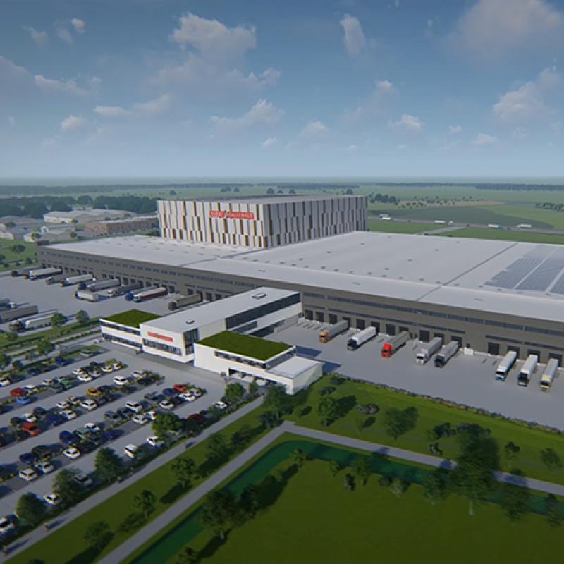 Barry Callebaut distribution center in Belgium