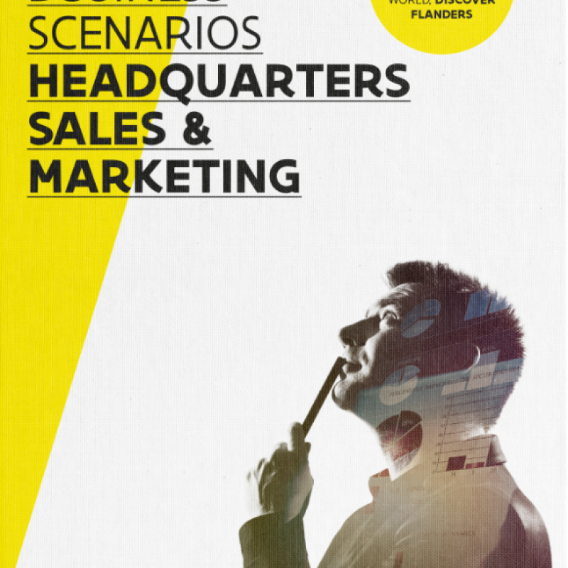 Cover Activity Guide Sales& Marketing in Flanders