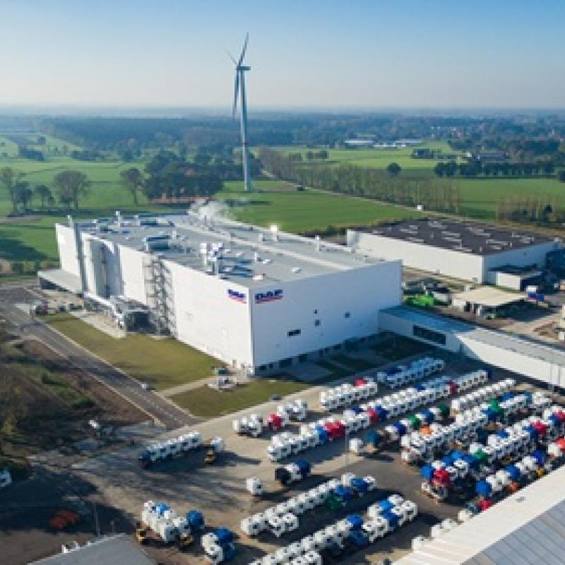 DAF Truck's US parent company Paccar invests EUR 100 million in a new coating line at the Flanders-based site.