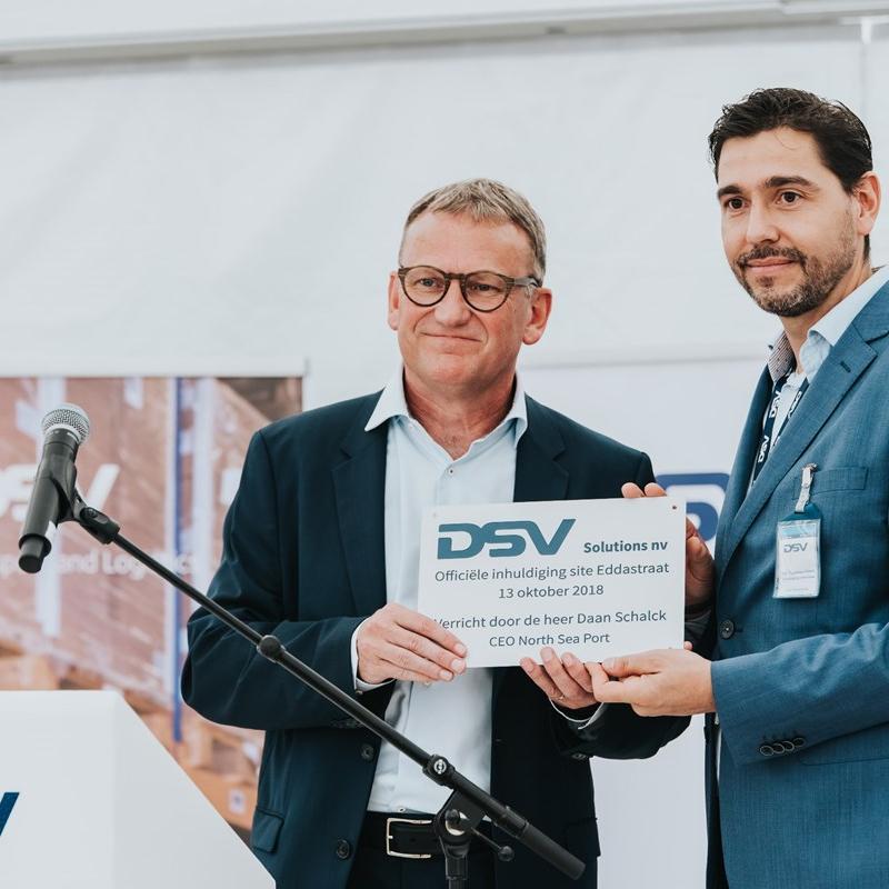 DSV North Sea Port inauguration ceremony