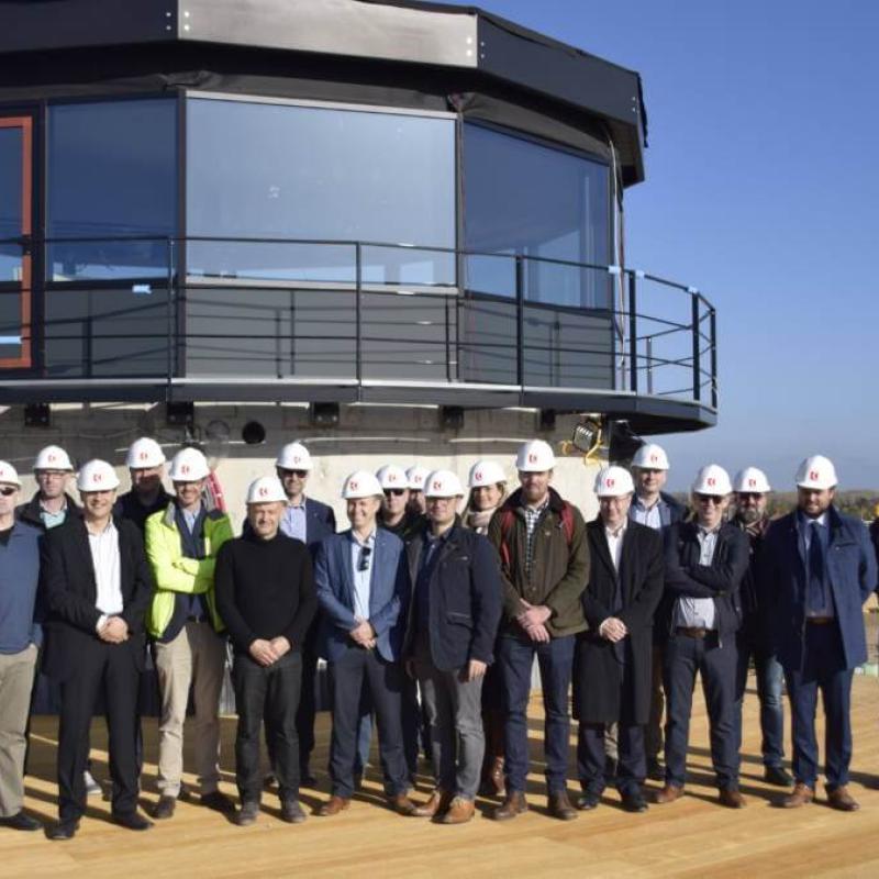 The SAFIR consortium at DronePort, Belgium