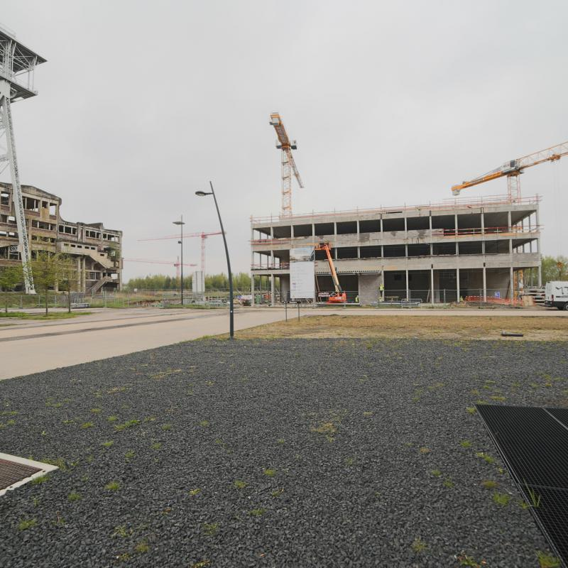EnergyVille II will house 5000 m² of cutting-edge labs, assembly units and offices
