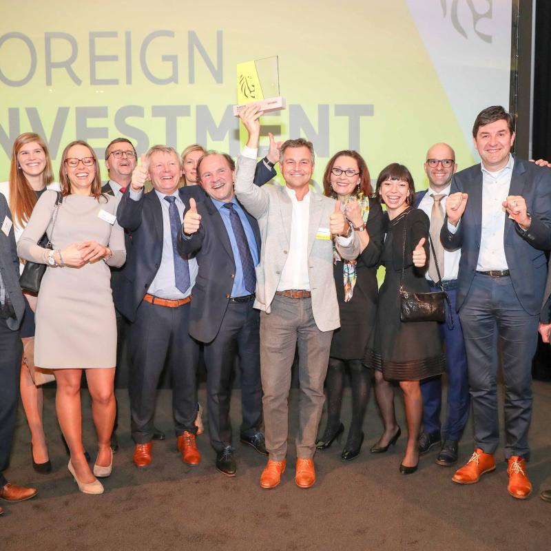 L'entreprise biopharmaceutique française Sanofi a remporté le grand prix pour son investissement de 300 millions d'euros dans l'extension de son usine de biotechnologie de Geel.