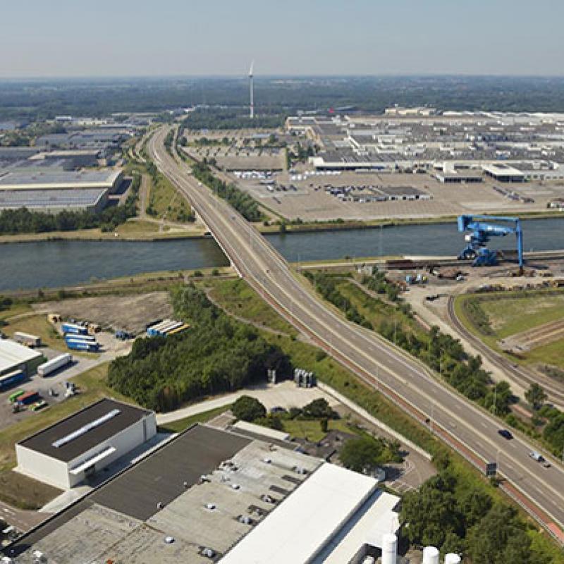 Genk Green Logistics builds large logistics hub in Flanders