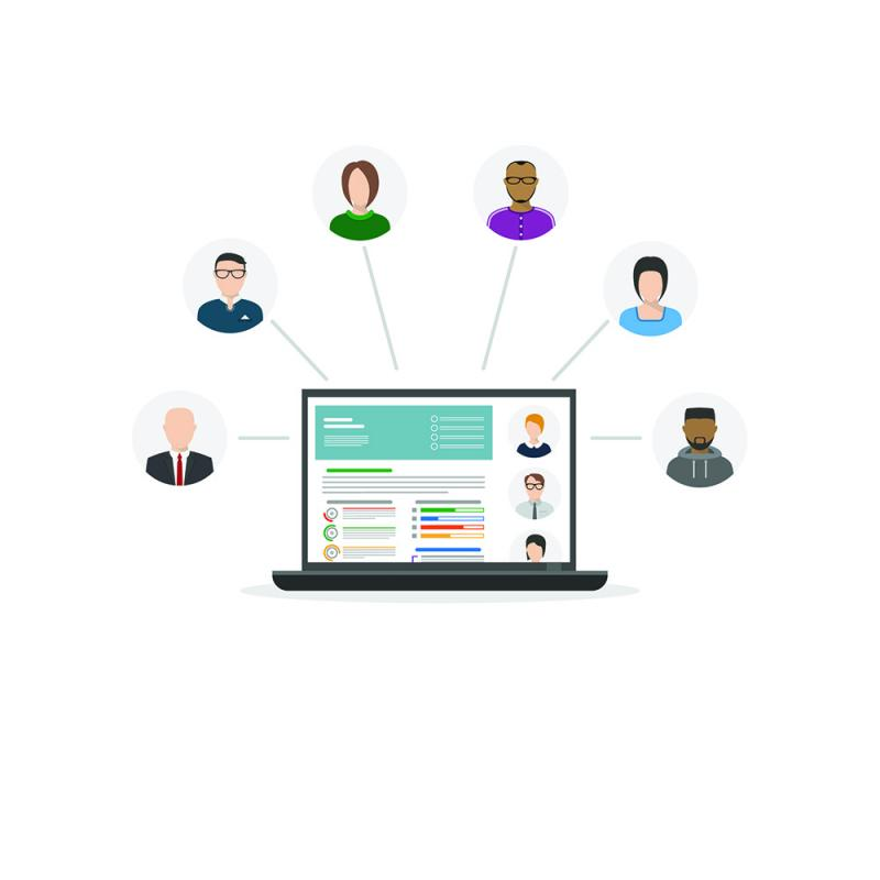 HR Software infographic