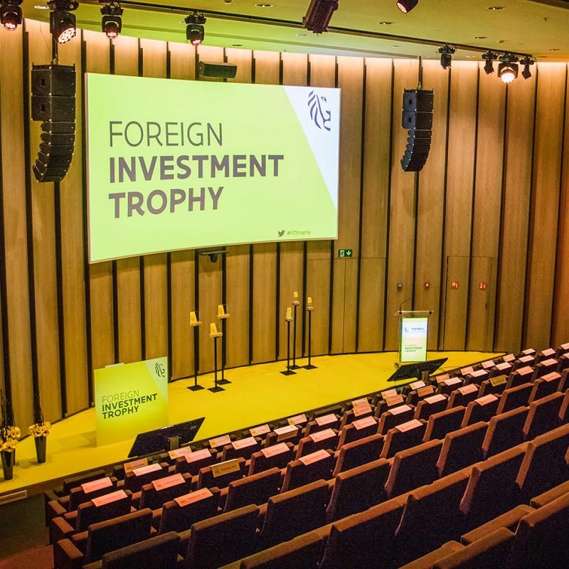 Foreign Investment Trophy stage