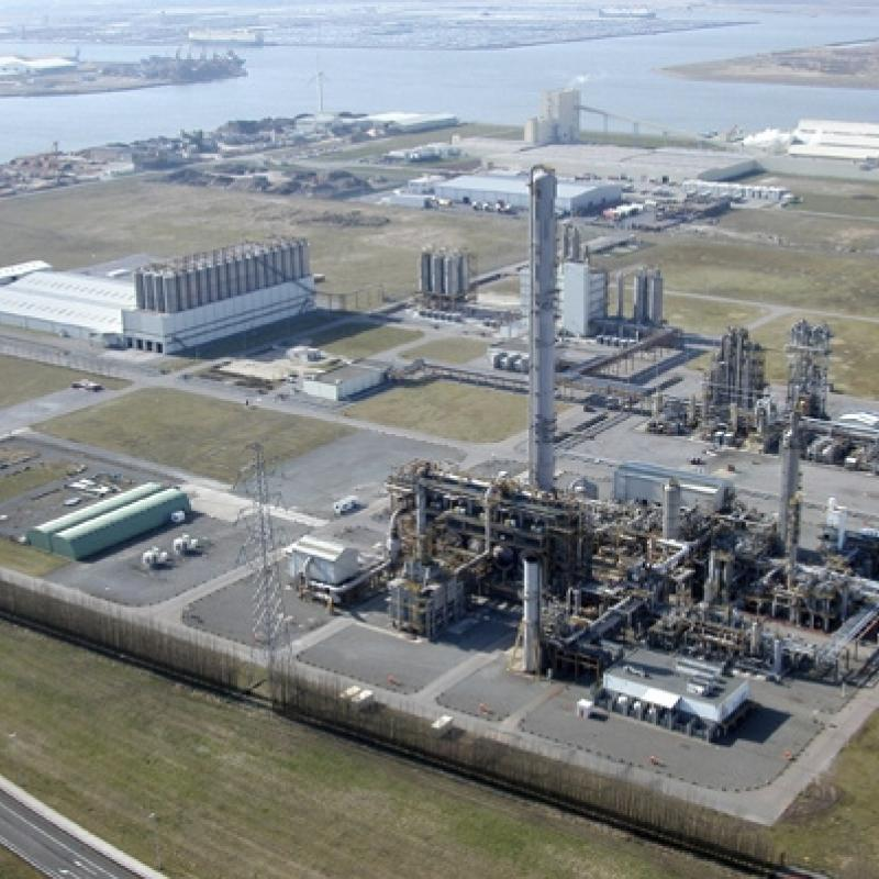 Borealis plant in Kallo, Antwerp-Belgium