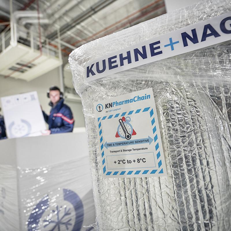 New Kuehne+Nagel vaccine distribution hub in Flanders