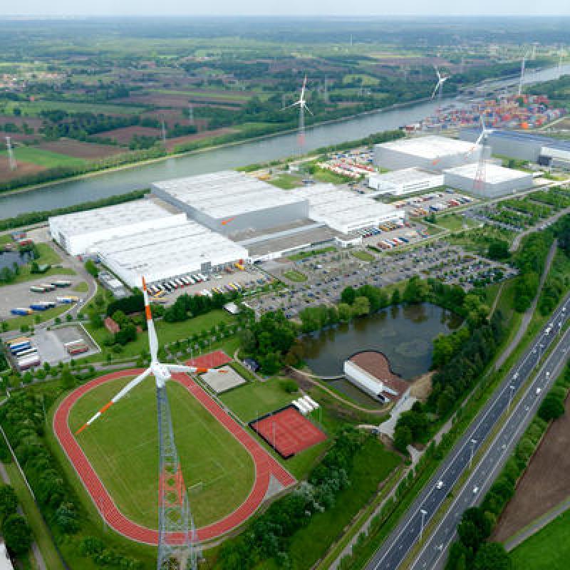 Nike European Logistics Campus in Laakdal, Flanders (Belgium)