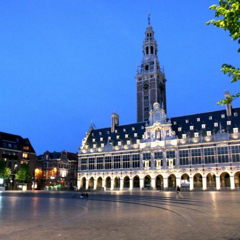 Library - Leuven University (c) Rob Stevens
