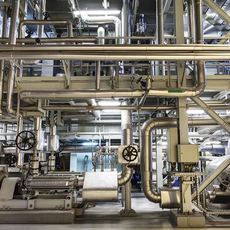 power cogeneration plant