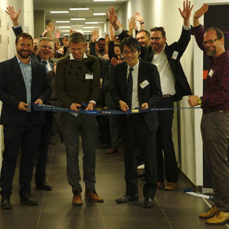 Nikon (JP) and the VIB BioImaging Core (Flanders) join forces in the new Nikon Center of Excellence