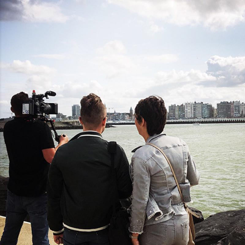 Video Shoot in Ostend, Flanders