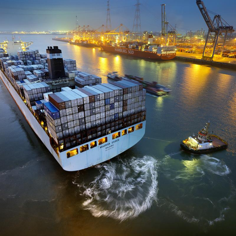 The Port of Antwerp – Flanders' largest seaport – ranks at #14 in the world's top 100 container ports.