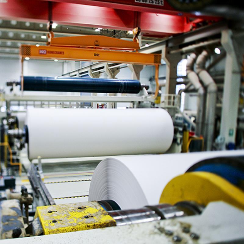 paper machine at Stora Enso