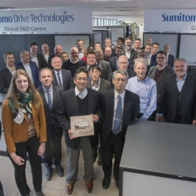 Japanese Sumitomo opens R&D Center in Flanders as a global innovation hub.