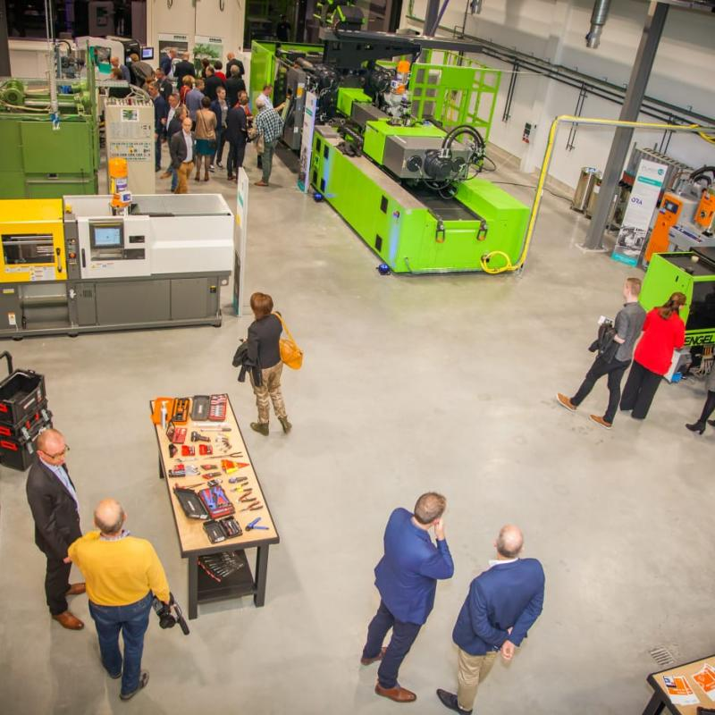 plastics training center in Genk, Belgium