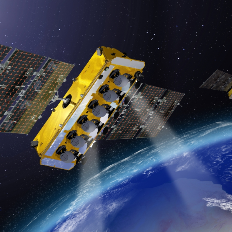O3b telecommunications satellites - Thales Alenia Space