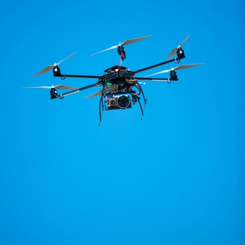 SABCA will base its future drone activities at the DronePort test center