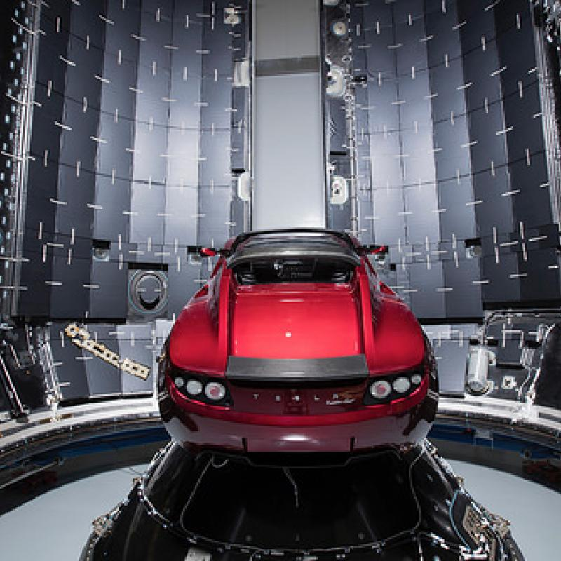 The insulation foams specialist helped protect the Falcon Heavy cabin from sound vibrations.