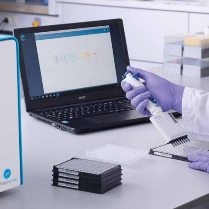 Biotech equipment producer Trinean impresses life sciences tool firm Unchained Labs with its DropSense system.