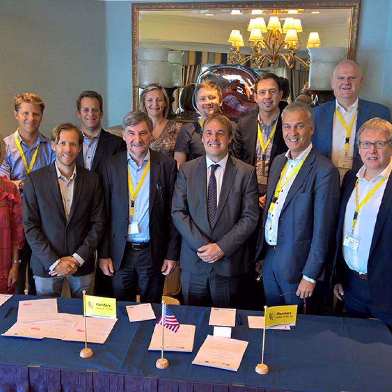 The Flanders Marine Institute (VLIZ) and the Benioff Ocean Initiative (BOI) have signed a collaboration agreement.