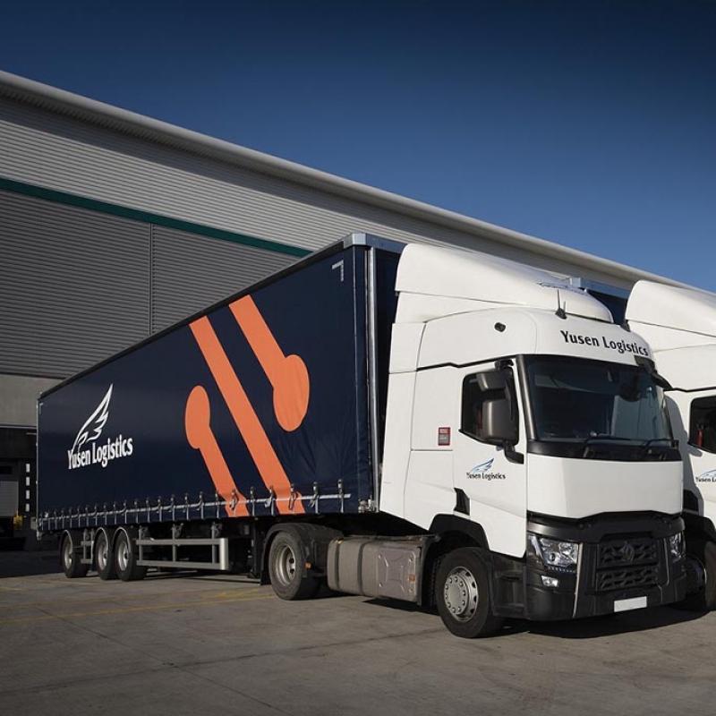 Yusen Logistics Truck