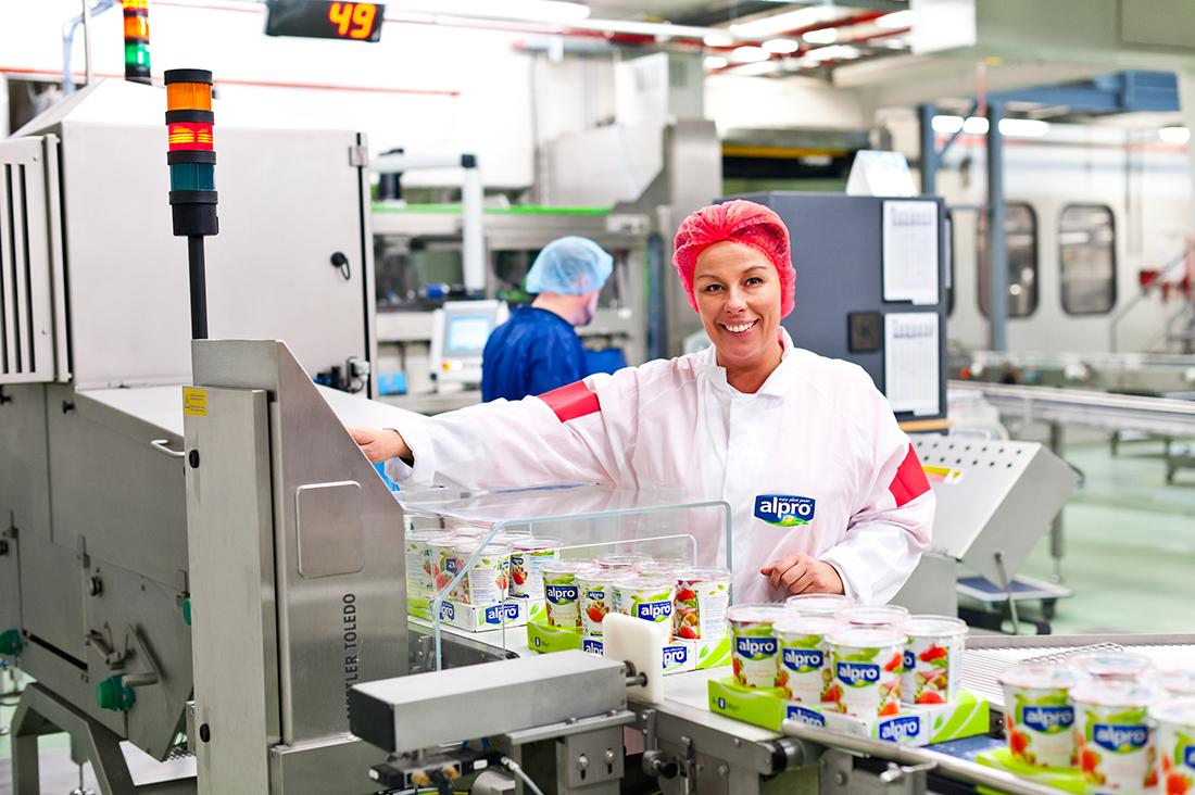 Alpro opens the new innovation center in Wevelgem to respond to growing demand for plant-based food products.