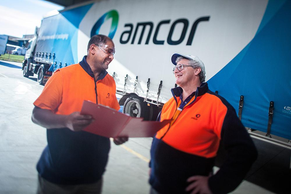 Amcor people talking