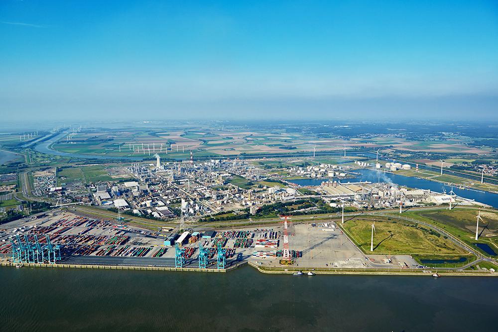 BASf plant in Antwerp, Flanders