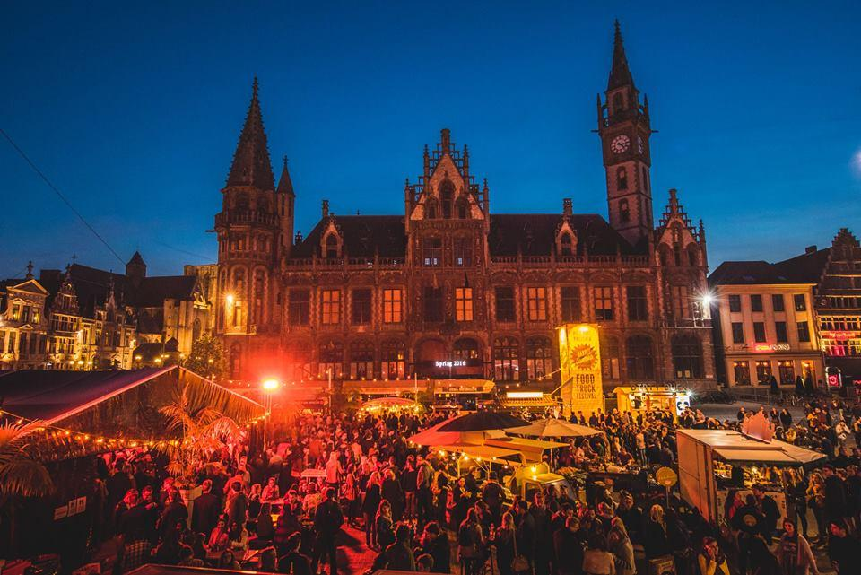 Barrio Cantina Food Truck Festival in Ghent