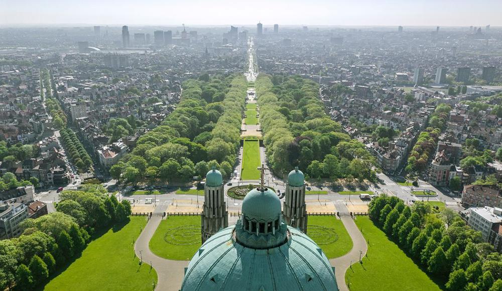 View on Koekelberg basilic, Brussels