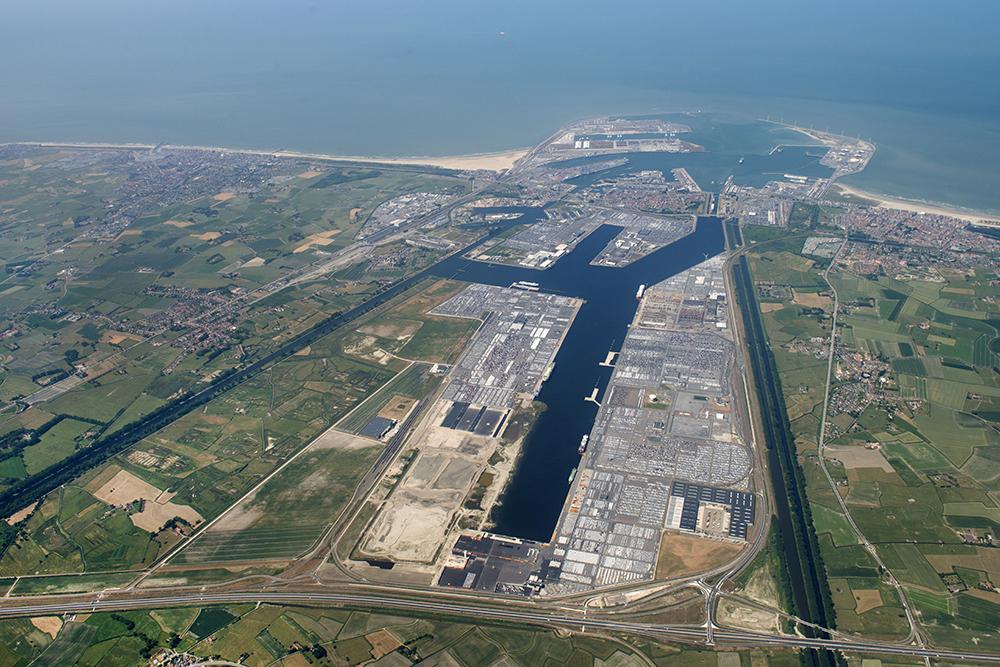 Port of Zeebrugge, Flanders, Belgium