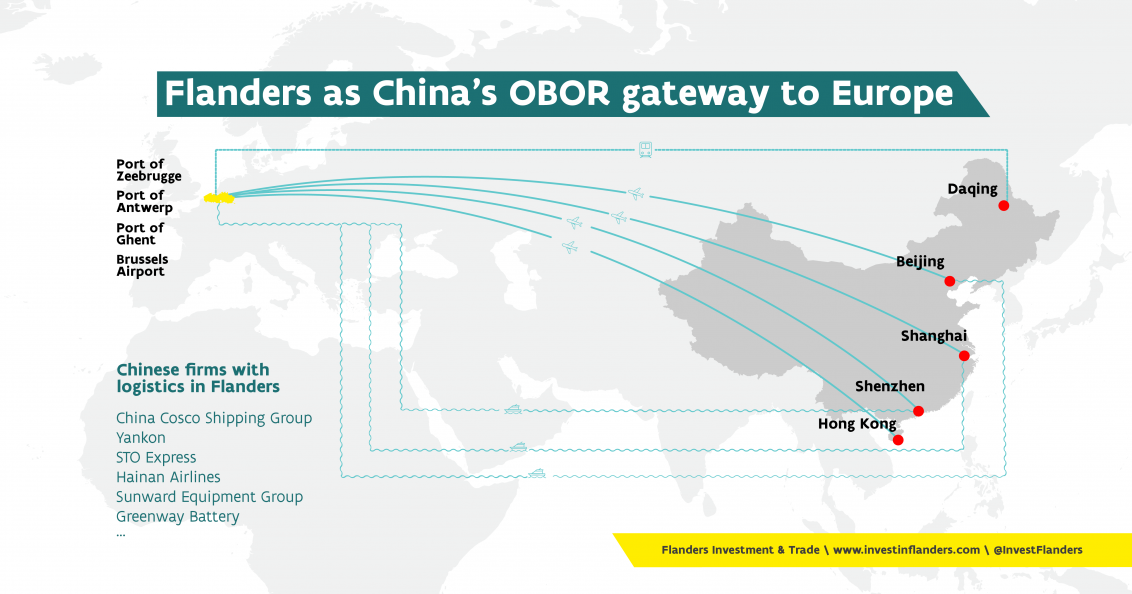In light of the country's One Belt One Road strategy, the ties between China and Flanders keep getting closer.