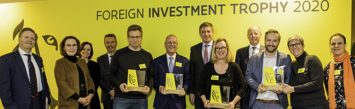 Winners at the Foreign Investment Trophy 2020