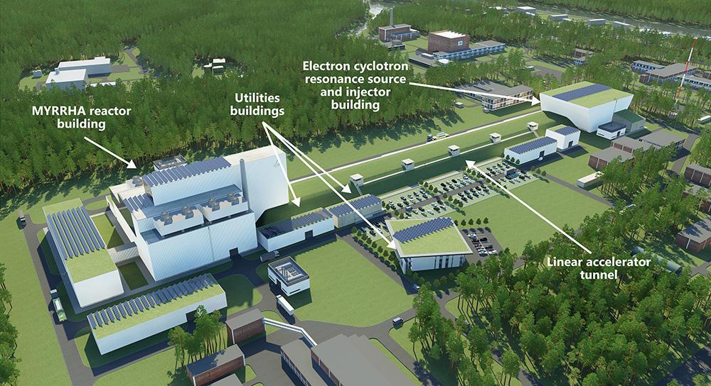 MYRRHA - amultifunctional experimental irradiation facility