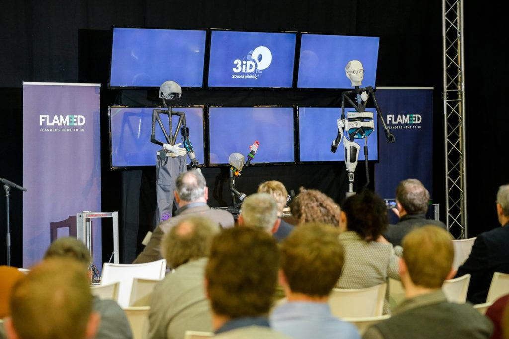 Thirty companies and research centers from Flanders are joining forces on an ambitious 3D printing project called 'Family of the Future'.