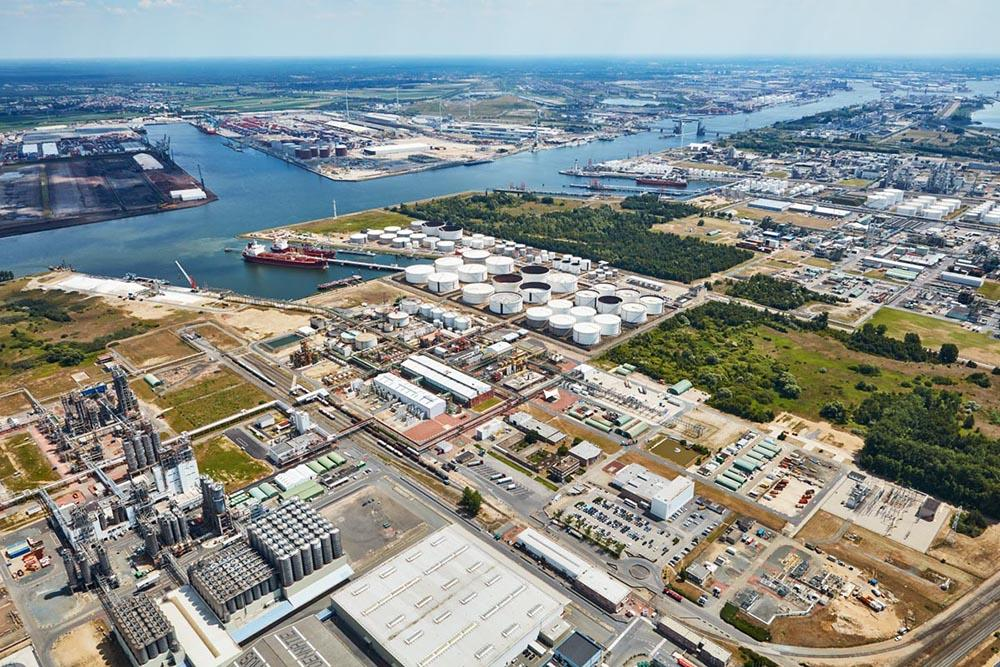 Ineos and Inovyn site at the Port of Antwerp